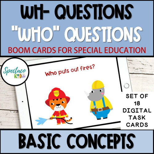 Boom Cards for distance learning