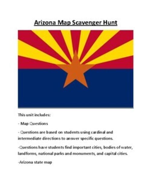 Arizona Lesson Plan Bundle
