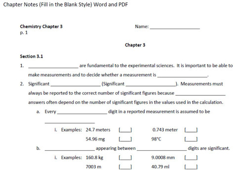 Aqueous Systems and Solutions(Chemistry Ch 15 and 16 - Bundled Lesson)