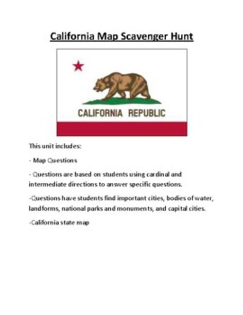 California Lesson Plan Bundle