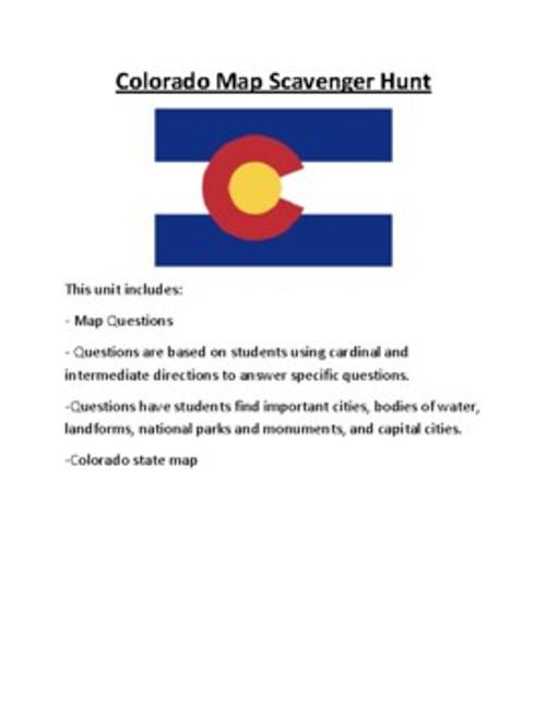 Colorado Lesson Plan Bundle