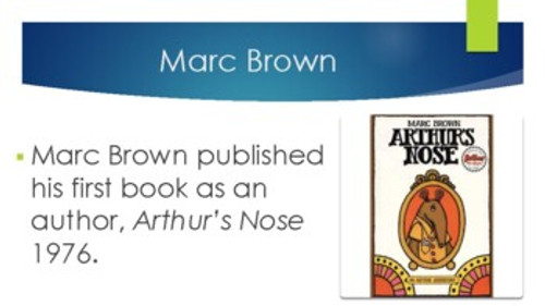 Marc Brown Biography PowerPoint