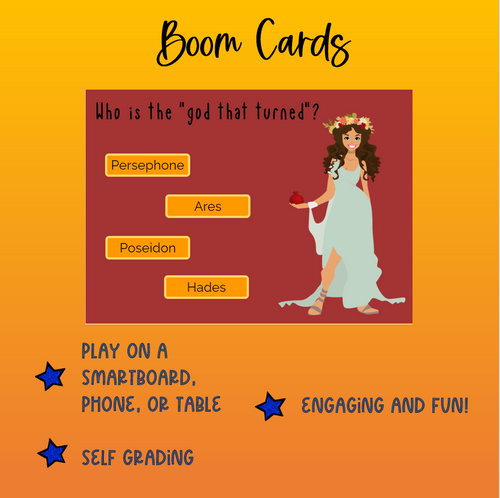 Percy Jackson BOOM cards (250 cards!)