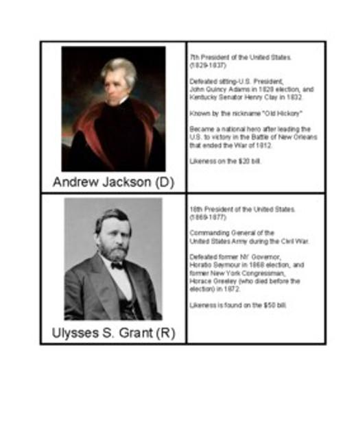 Two-Term U.S. Presidents