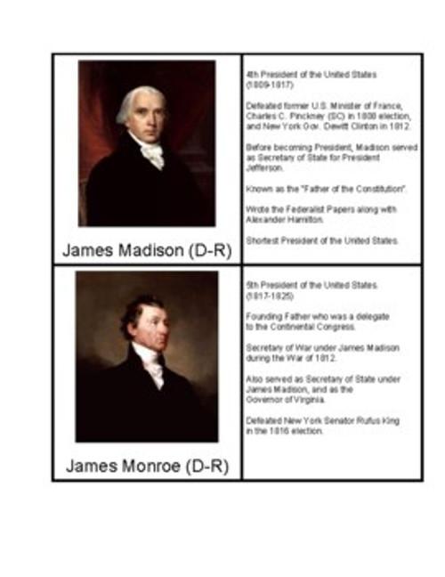 U.S. Presidents from Virginia