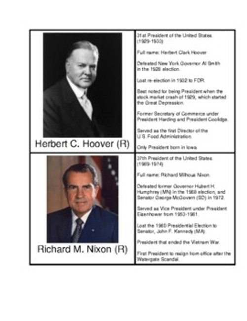 U.S. Presidents from California