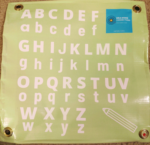 Upper and Lower Case Letter Practice Activity Mat