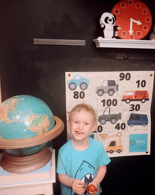 Cars Count By 10s Activity Mat