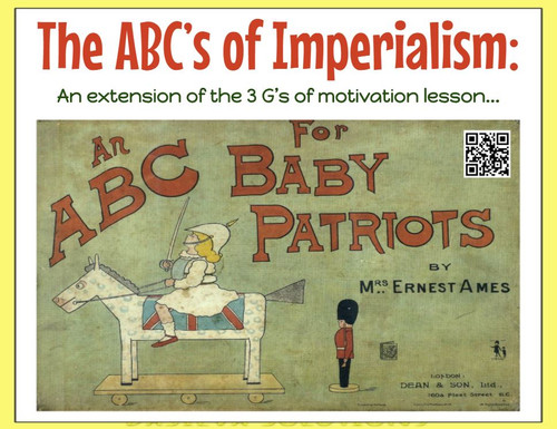 ABC's of Imperialism: analysis, gallery walk, & art activities