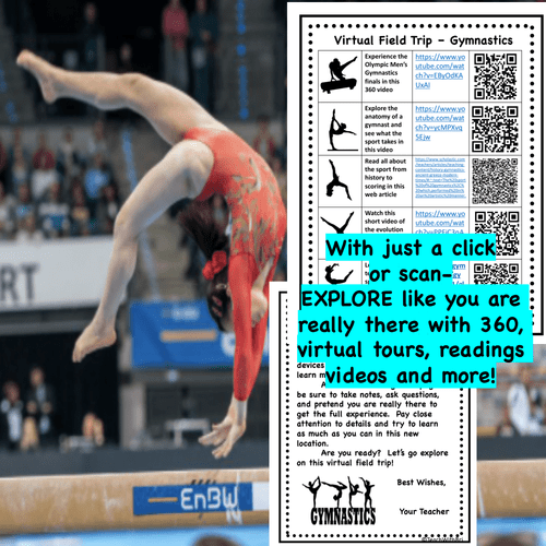Digital Version: Virtual Field Trip - Behind the Sport- Gymnastics - Science and PE
