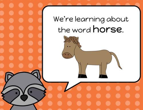 Edmark Level 1 Google Slides, Words 1-30