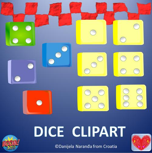 Dice 3D Die ClipArt