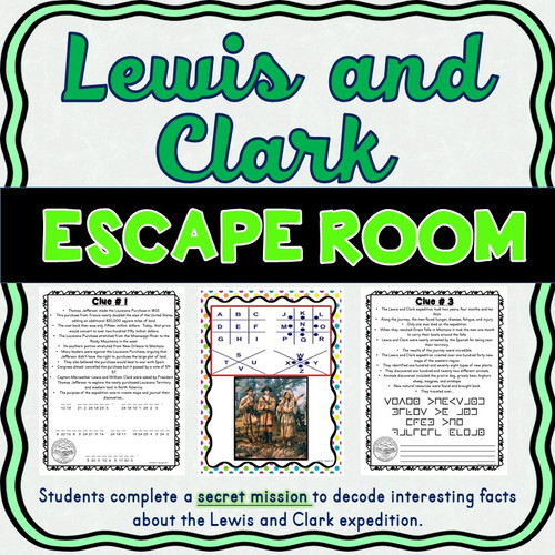Lewis and Clark ESCAPE ROOM!