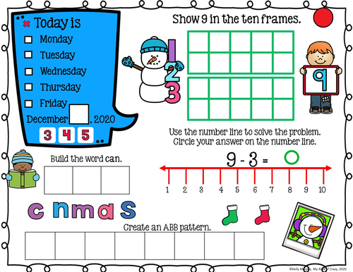 December Homework Remote Readiness Google Slides