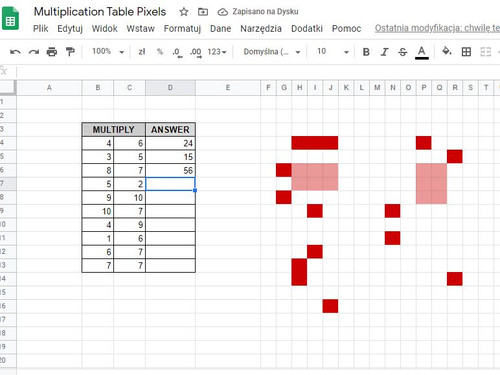 FREE Multiplication Table Butterfly Math Pixel Art Mystery Picture EDITABLE DIGITAL