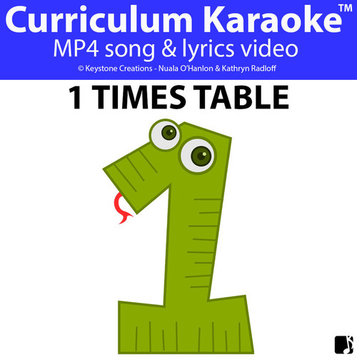 'TABLES TIME!' ~ Curriculum Karaoke™: 5 Song Videos Bundle & Lesson Materials