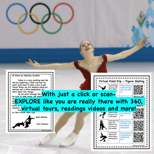 Virtual Field Trip - Behind the Sport- Figure Skating - Science and PE