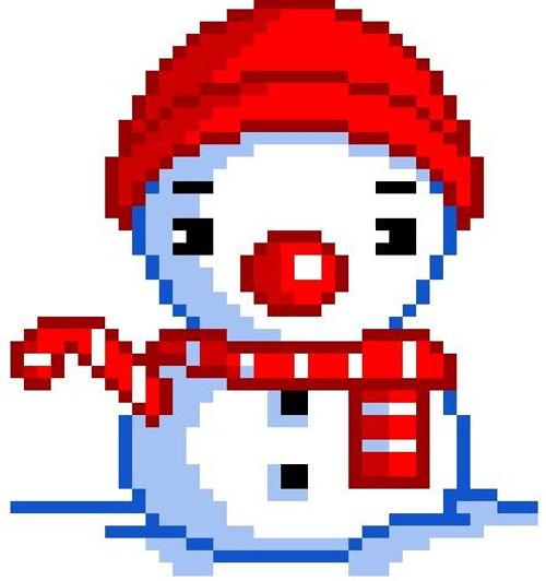 Snowman - Combining Like Terms, Simplifying Algebraic Expressions  Pixel Art Mystery Picture  EDITABLE