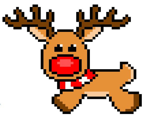 Rudolph Reindeer Christmas - Distributive Property, Simplifying Algebraic Expressions  Pixel Art Mystery Picture  EDITABLE in Google Sheets/ **Excel