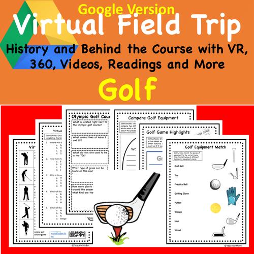Digital Version - Virtual Field Trip - Behind the Sport- Golf - Science & PE