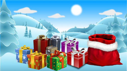 Christmas DIGITAL Escape Room - Algebraic Expressions, Equations EDITABLE Free