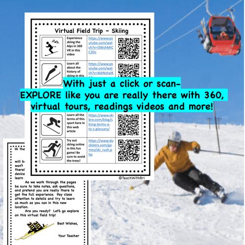 Virtual Field Trip - Behind the Sport- Skiing - Science & PE
