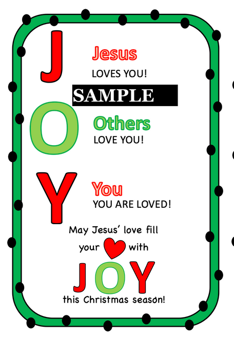 Simple Gift to Give Your Sunday School Students for Christmas