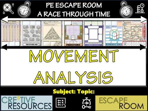 Movement Analysis Digital Escape Room
