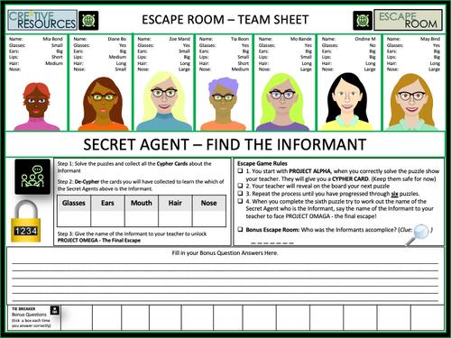 An Inspector Calls Digital Escape Room
