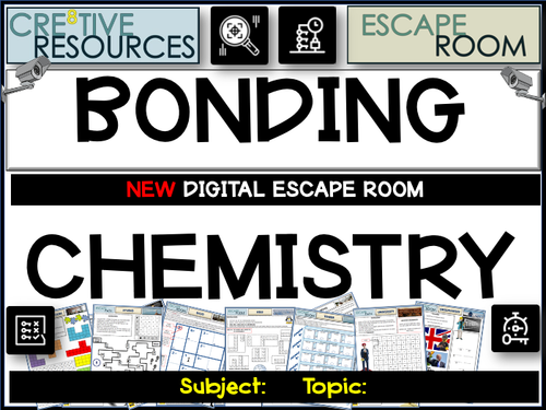 Bonding - Science Escape Room