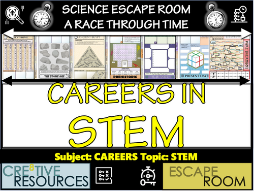 Careers in Science Escape Room