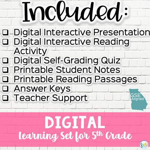 DIGITAL LEARNING SET Jim Crow and Civil Rights | SS5H6, SS5H6a, SS5H6b