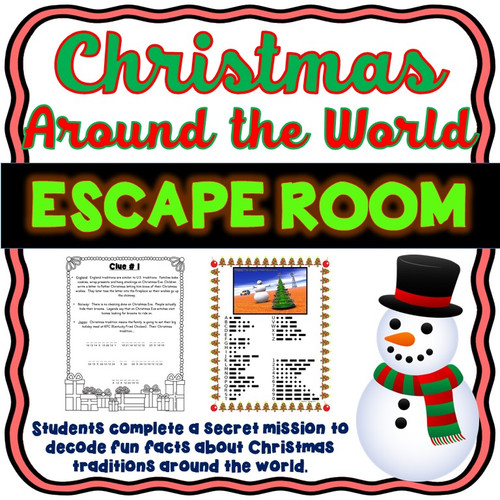 Christmas Around the World ESCAPE ROOM!