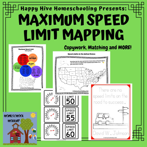 United States Speed Limit Mapping