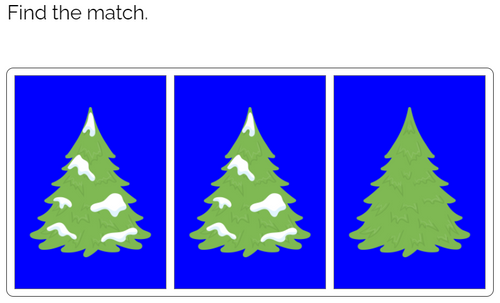 Matching: Winter Theme Boom Cards™
