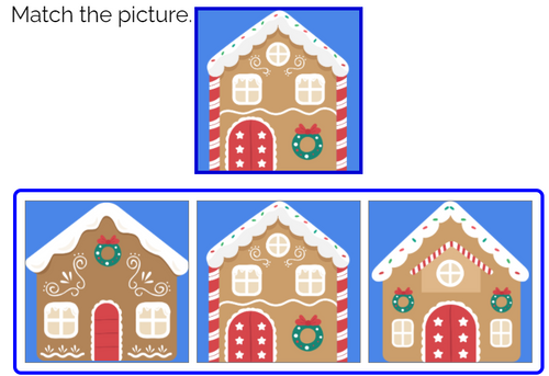 Match the Picture: Winter Theme Boom Cards™