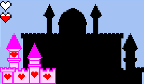 Valentine's Castle Escape Room - Pixel Art Mystery Picture Template EDITABLE