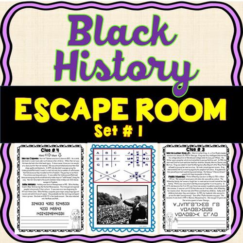 Black History ESCAPE ROOM #1