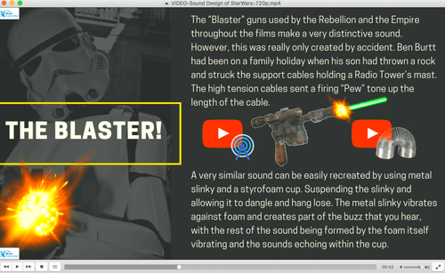 Sound Design in Star Wars-FULL LESSONS-Distance Learning | Google Slides™