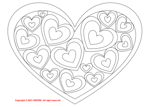 Valentines Day Color by Number Addition & Subtraction to 20 Printable & Digital