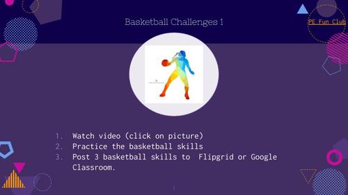 PE Middle School Digital Lessons