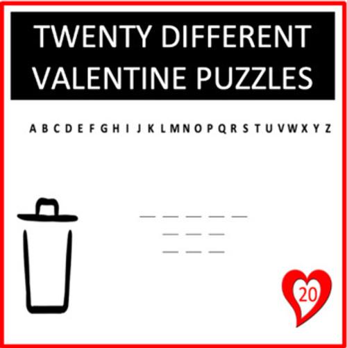 Valentine Digital Letter Guess