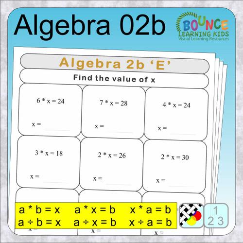 Algebra 2b cover