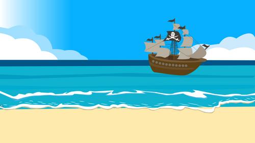 Pi Day DIGITAL Math Circumference & Area of a Circle | Pirate Treasure Hunt GAME