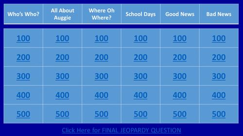 R. J. Palacio's Wonder Jeopardy