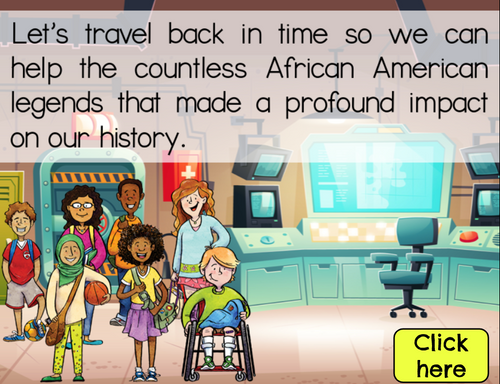 Black History Month Math Activity: Multiplying Fractions by Fractions