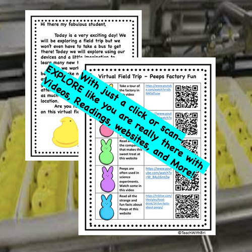 Peeps Factory Tour - Virtual Field Trip - Printable Version