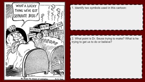 Dr. Seuss World War II Cartoon Analysis