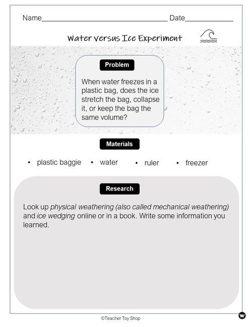 Rocks and Weathering Activity | for Google Slides™ + print PDF