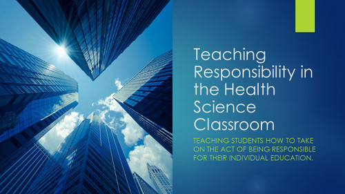 Developing Responsibility in Health Care